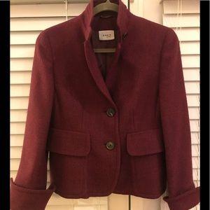 Raspberry AKRIS Punto Cozy Blazer Lovely